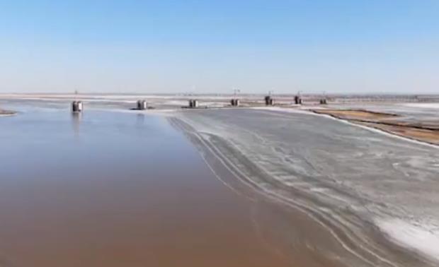 大美黄河全身被,即将开河