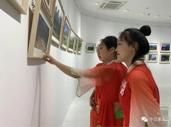 记录·美|野三坡风光摄影书画作品展开幕