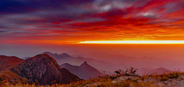 神奇的罗霄山脉